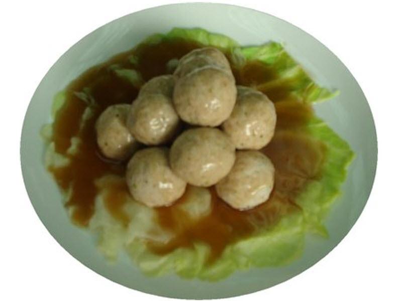 蒸豬肉丸(蒸)