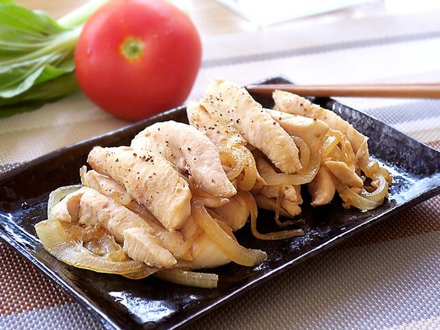 洋蔥炒虱目魚菲力