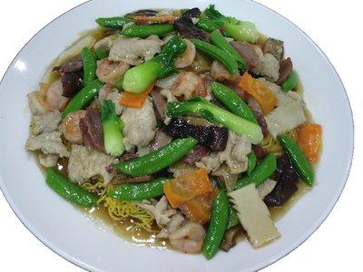 廣州炒麵(煎燴)