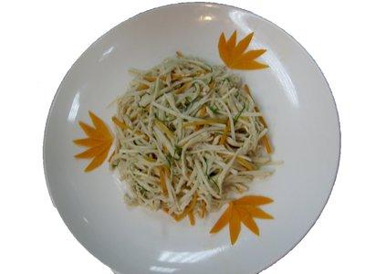 洋蔥炒筍絲