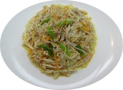 金菇炒肉絲