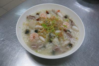 台式翡翠海鮮煲粥