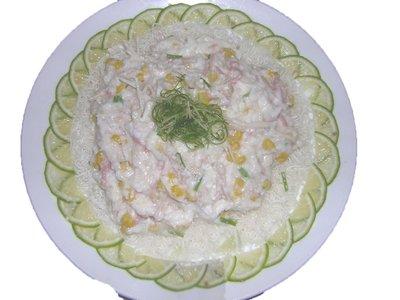雪花炒肉(雞)絲